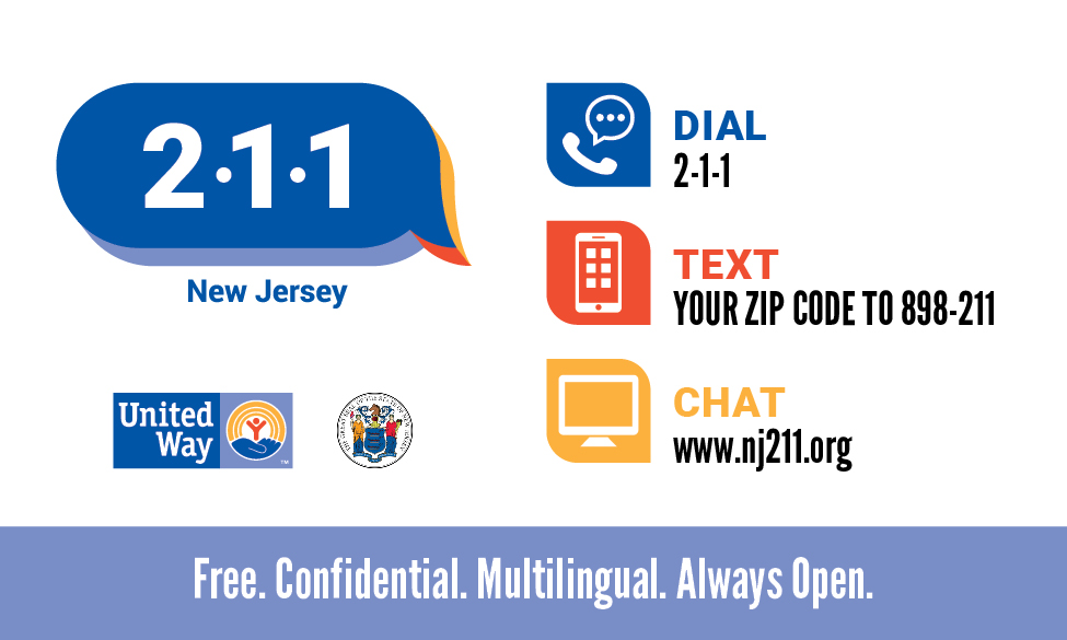 NJ 211 wallet cards