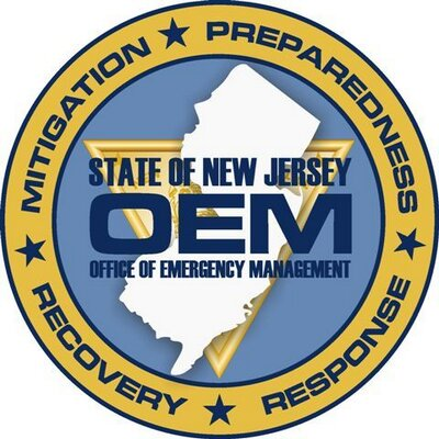 NJ Office of emergency management logo